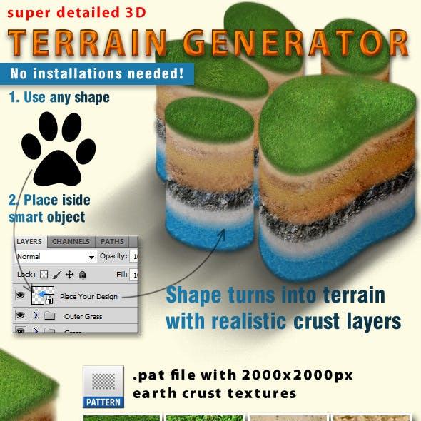 3d Terrain Generator