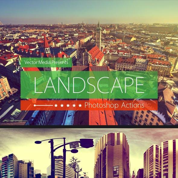 Landscape - Photoshop Actions