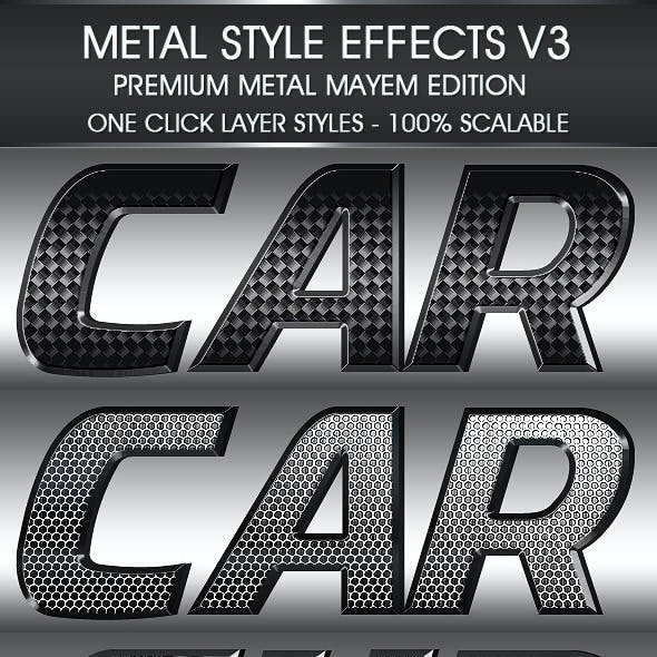 Metal Styles Set Volume Three