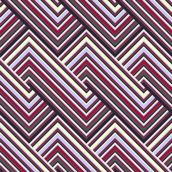 Colored Lines Pattern - Textures / Fills / Patterns Illustrator