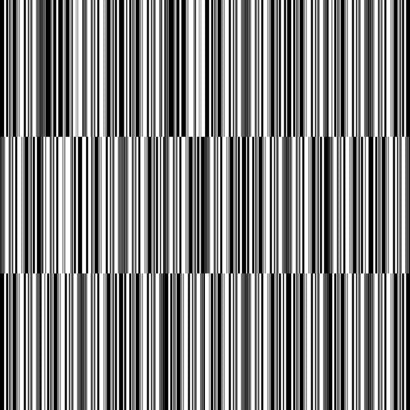 Seamless Black And White Pattern - Lines