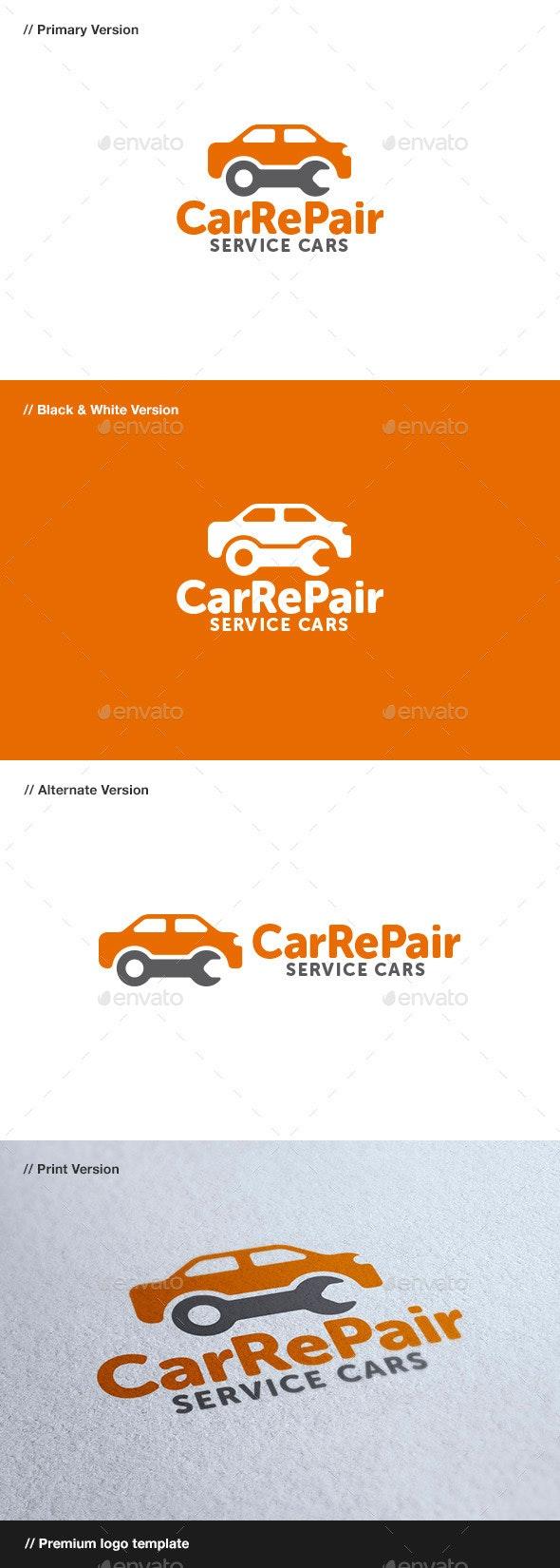 Car Repair - Objects Logo Templates