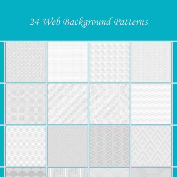 24 Web Background Patterns