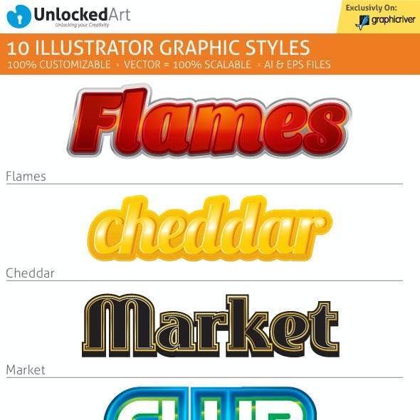 Custom Graphic Styles 2
