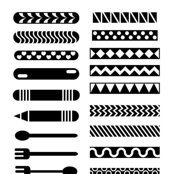 Fun Brushes for Illustrator