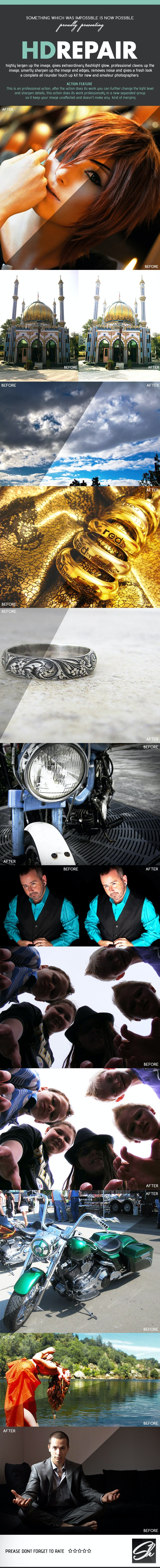 Pro HD Repair Kit - Photo Effects Actions