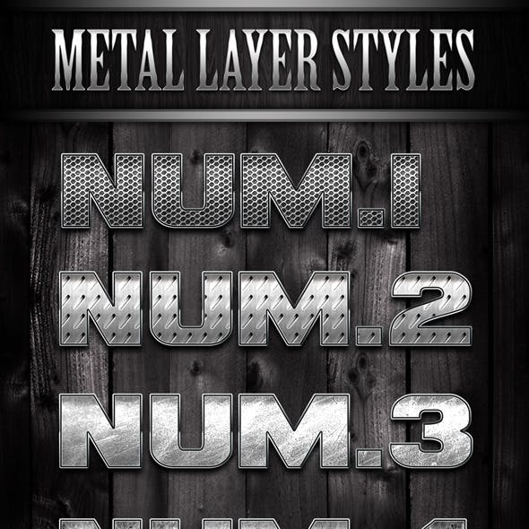 Metal Layer Styles