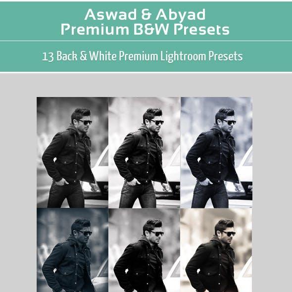 Aswad & Abyad - Premium B&W Presets