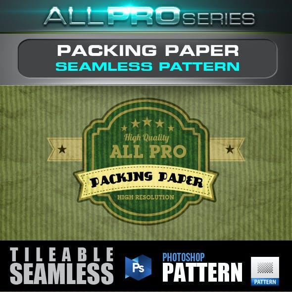 Packing Paper Seamless Pattern