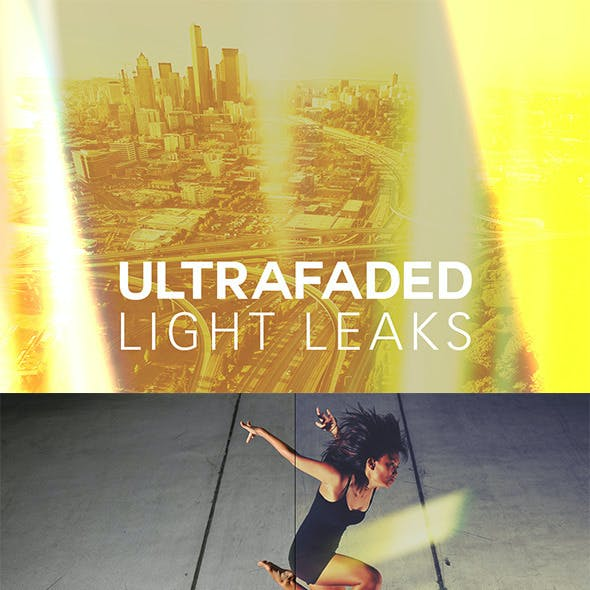 Ultra Faded Light Leaks