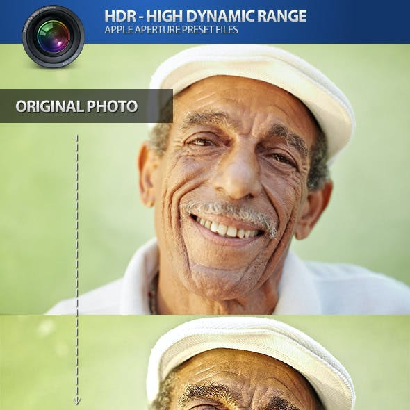 HDR High Dynamic Range Aperture Photo Presets