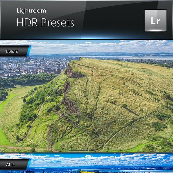 HDR Presets for Lightroom