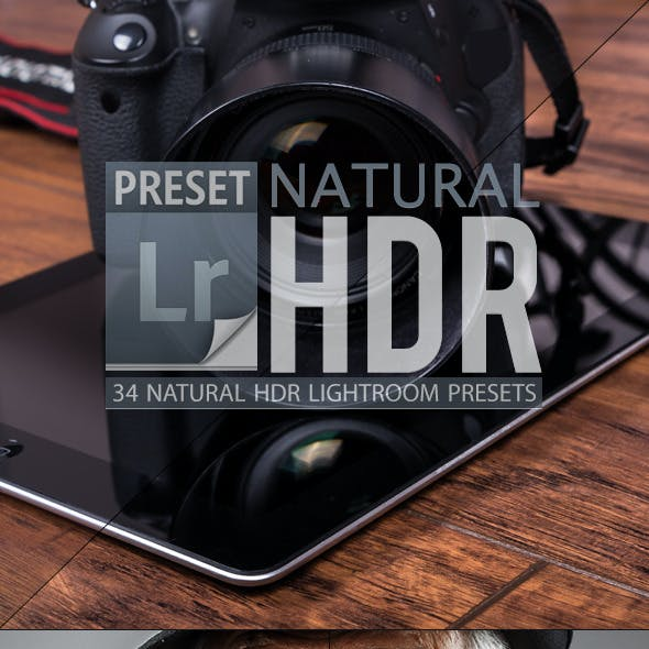 Natural HDR Lightroom Presets