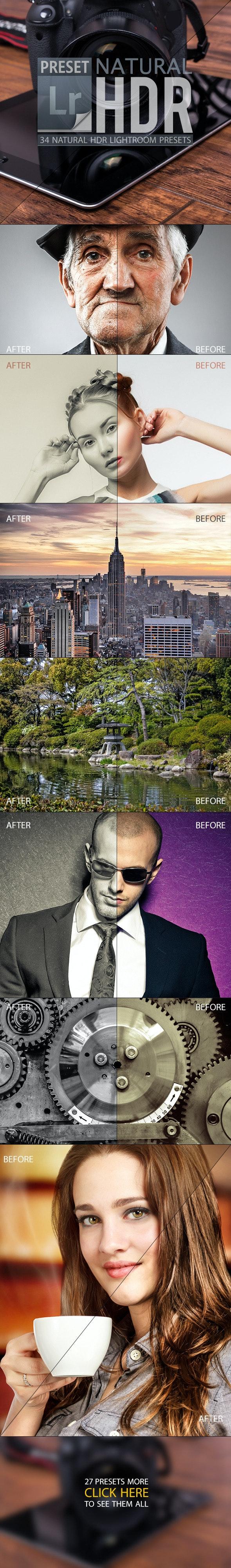 Natural HDR Lightroom Presets - HDR Lightroom Presets