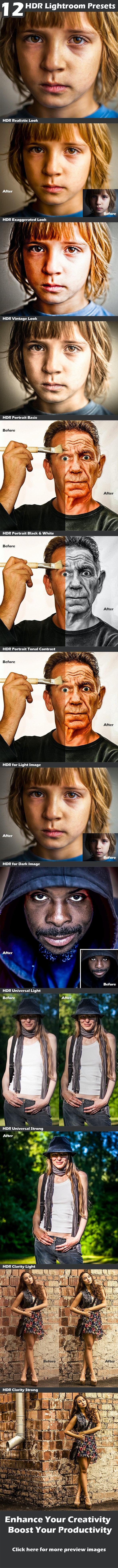 HDR Presets - HDR Lightroom Presets