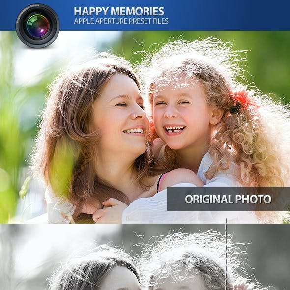 Happy Memories Aperture Photo Presets