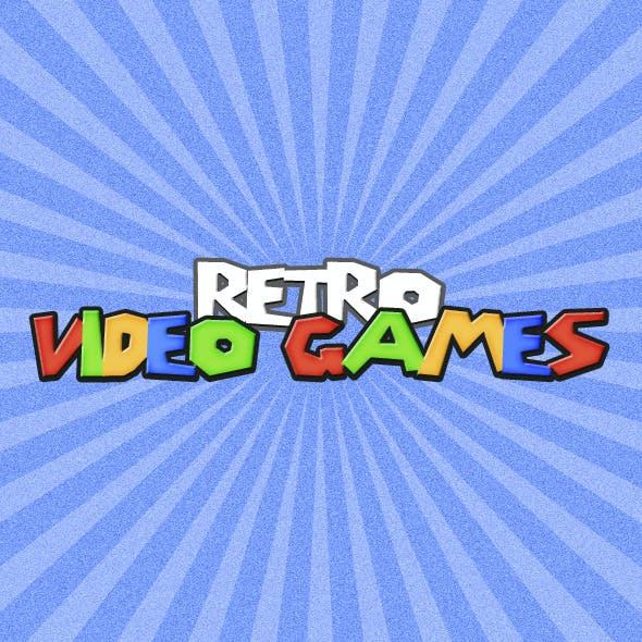 Retro Video Game - Text Effects