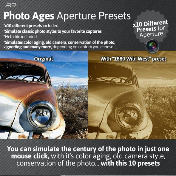 Photo Ages Aperture Presets