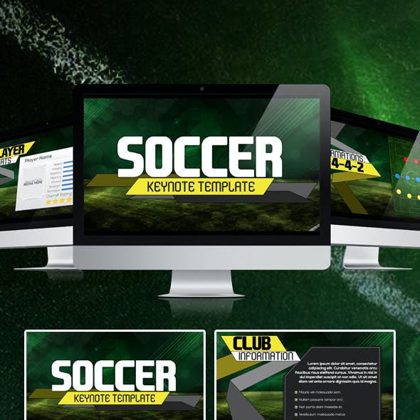 Soccer Keynote Template