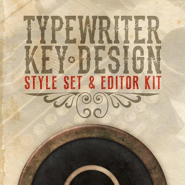 Typewriter Key Design Kit