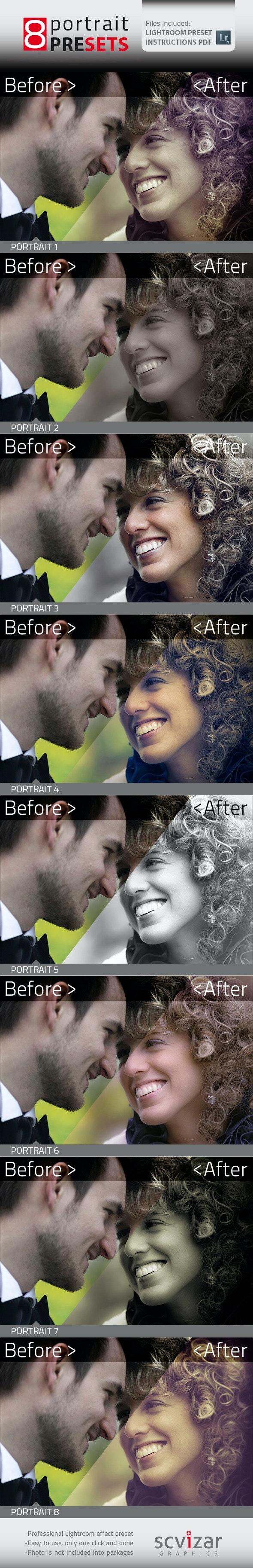 Portrait Presets - Portrait Lightroom Presets