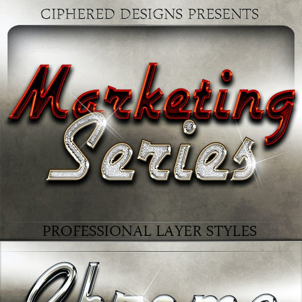 Marketing Series - Professional Layer Styles