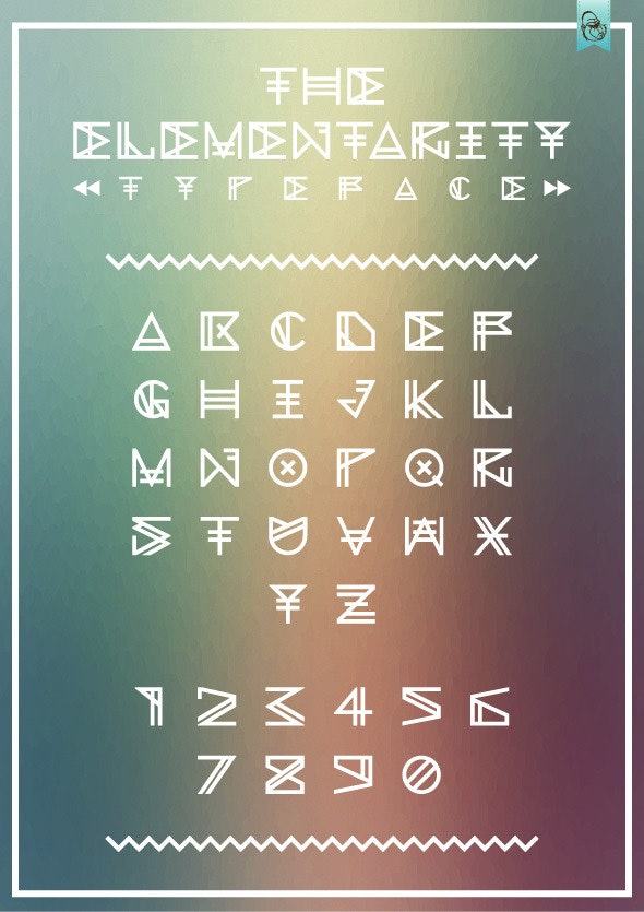 The Elementarity  - Fonts