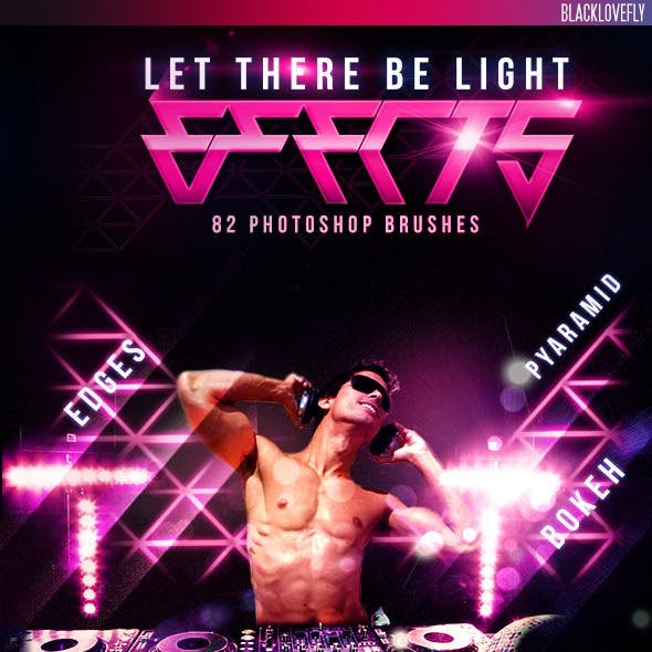 82 Light Effects Brushes