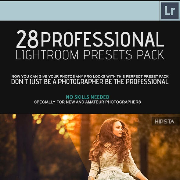 28 Professional Lightroom Presets Pack