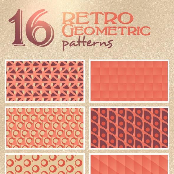 16 Retro Geometric Patterns