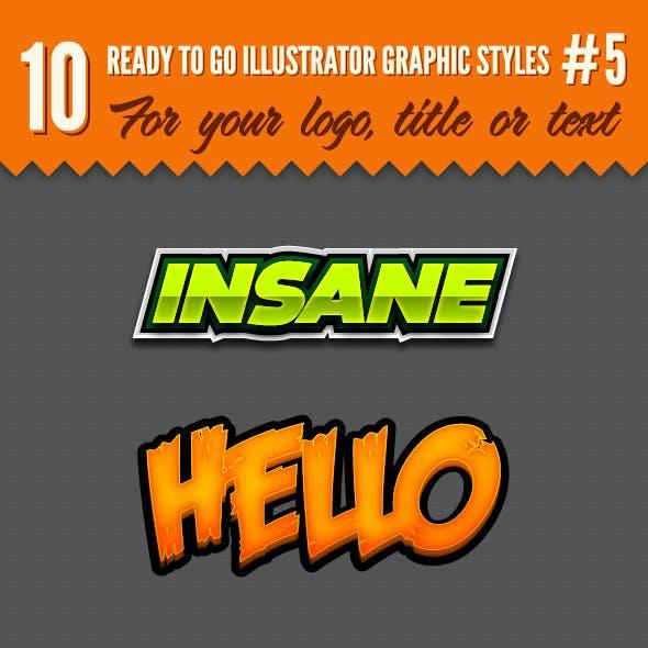 10 Logo Graphic Styles #5