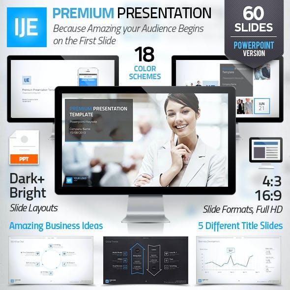 IJE - Premium Presentation Template