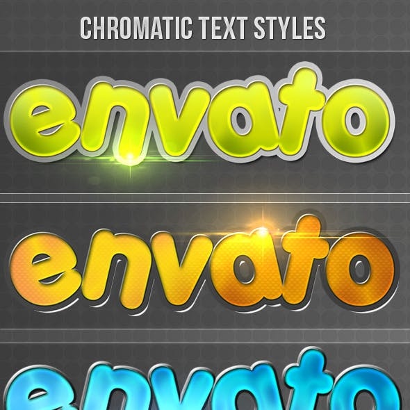 Chromatic Text Styles