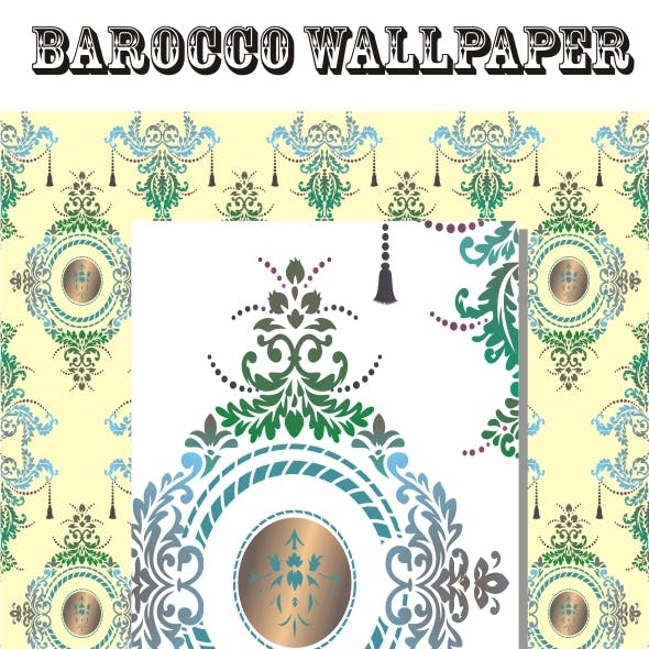 Barocco Wallpaper
