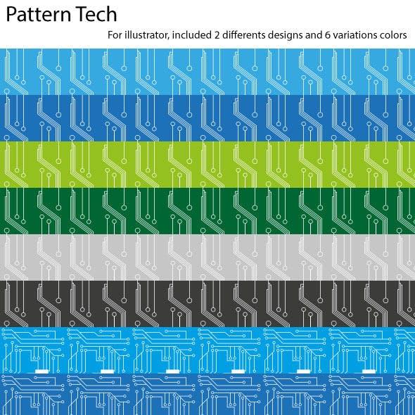 Seamless Pattern Tech