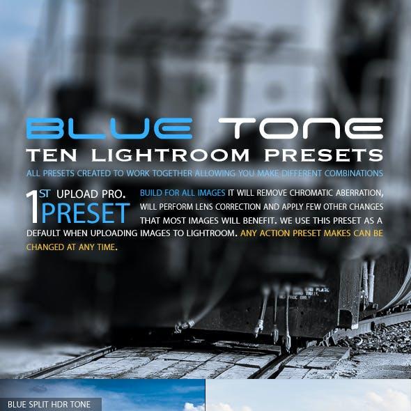 Blue Tone Pro (Lightroom Presets)