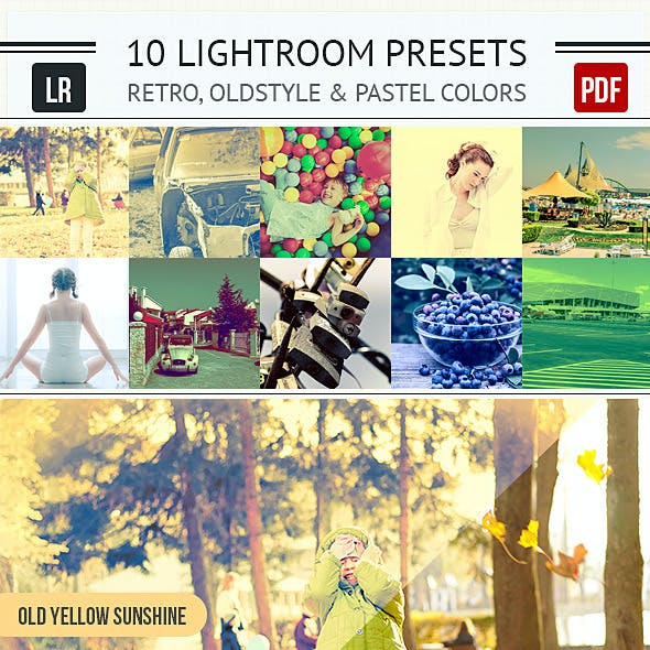 10 Old-style Lightroom Presets