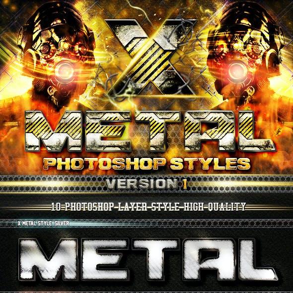 X Metal Styles V.1