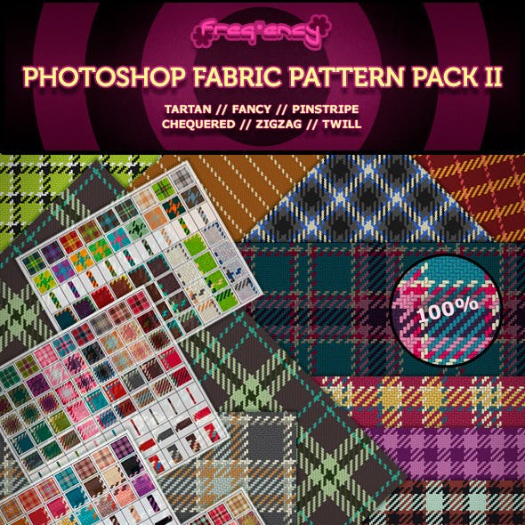 Photoshop Fabric Pattern Pack II