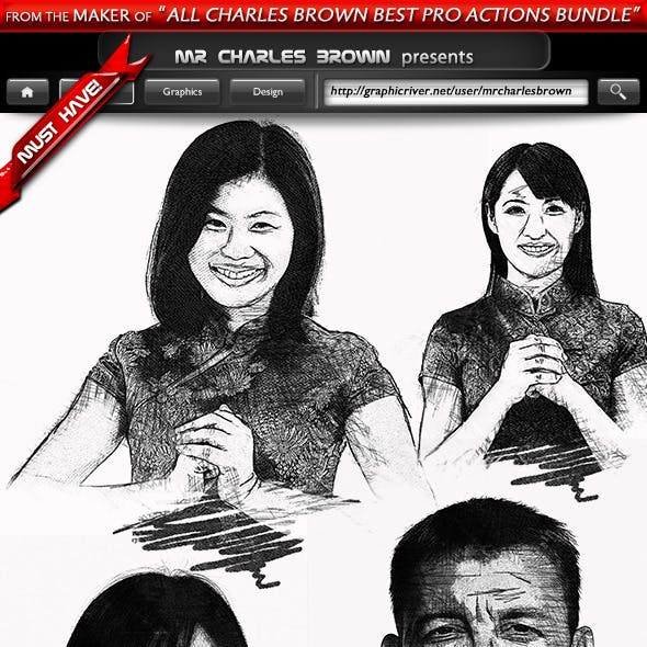 Pure Art Hand Drawing 16 – Chinese Heritage Art v1