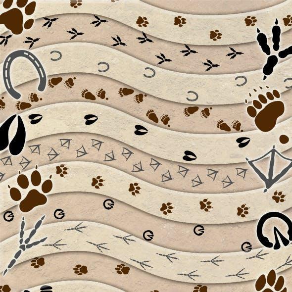 Animal Tracks Brush Set