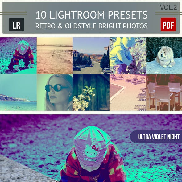 10 Oldstyle Lightroom Presets Vol.2