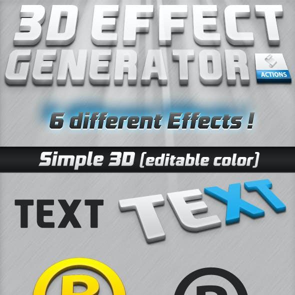 3D Effect Generator V 1.0
