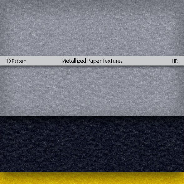 Metallized Colored Paper Patterns