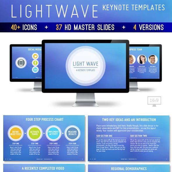 Lightwave Keynote Presentation Template