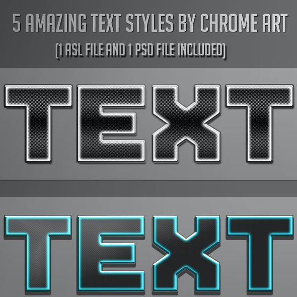 5 Text Styles