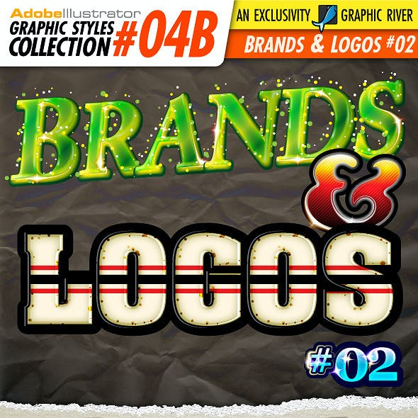 AI Styles Collection #04B: Brands & Logos #02