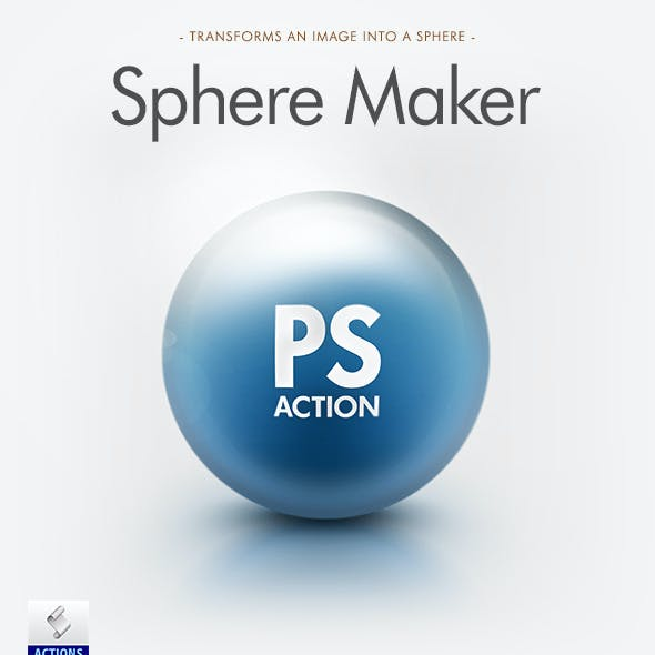 Sphere Maker Photoshop Action