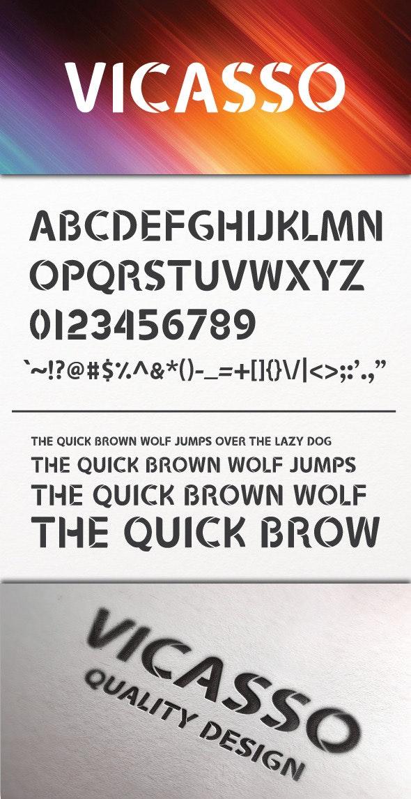 Vicasso Font - Miscellaneous Decorative