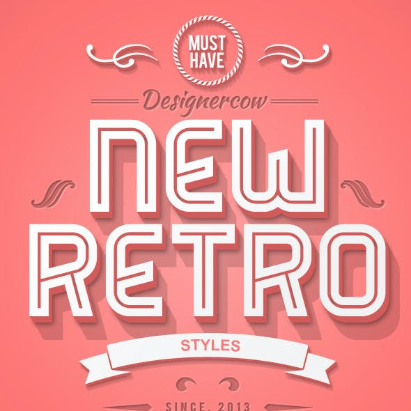New 3D Retro Creator